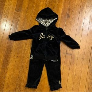 Baby Girl's Juicy Couture Velour Suit